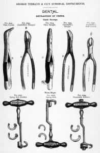Zahnarztwerkzeug für Zahn-OPs