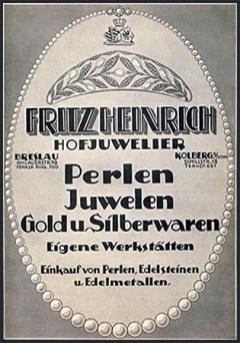 Reklame vom Hofjuwelier