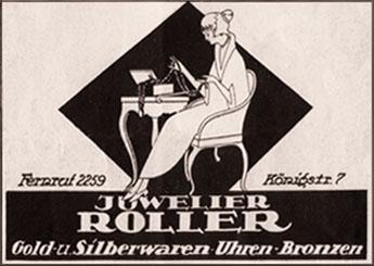 Juwelier, Reklame