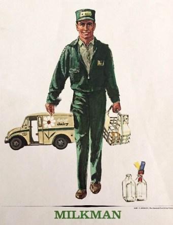 milkman, Milchmann, Milchhändler, Milch, USA