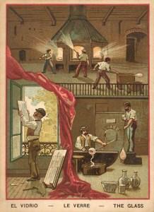 vidrio, verre, glas, Glasherstellung, Glaser, Beruf