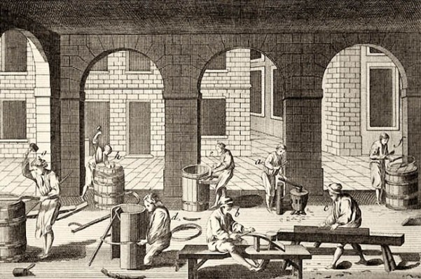 Werkstatt, Böttcherwerkstatt, Böttcher, Fassbinder