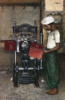 Buchpresse, Buchbinder