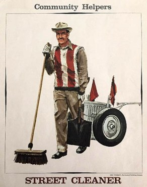 Straßenreiniger, Straßenkehrer, Straßenfeger, Street Cleaner