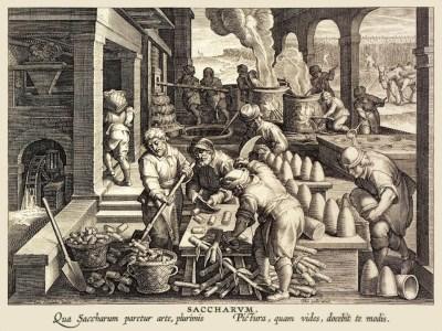 Zuckerhersteller, Zuckerohrverarbeitung, Zuckersiederei, Zuckerhut, Sizilien