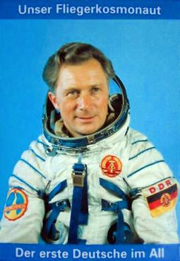 Porträt eines DDR-Kosmonauten