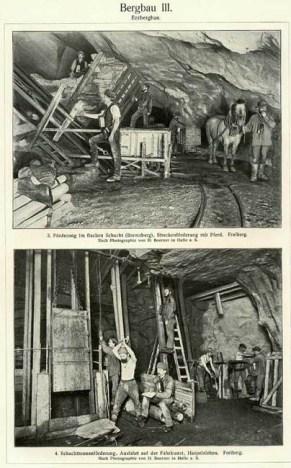Erzbergbau, Bergbau, Bergmann, Erze, Erzmine