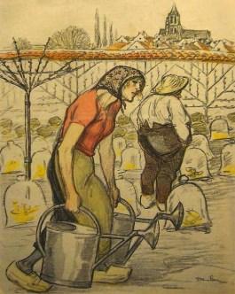 Gärtner, Gärtnerin, Gartenarbeit