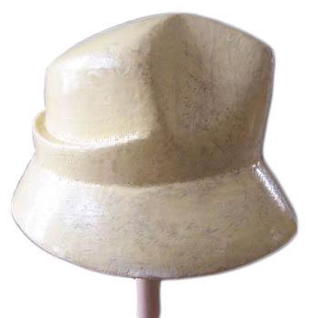 alte Hutform für Damenhut aus Holz