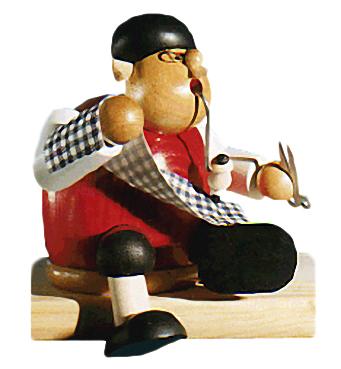 Holzfigur/Räuchermännchen: Schneider