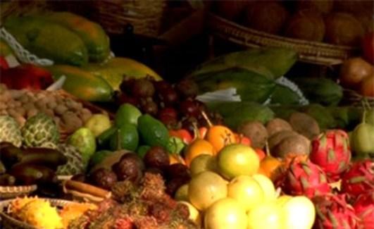 Obst- und Gemüsehändler, Obst- und Gemüse, Verkauf, Iran