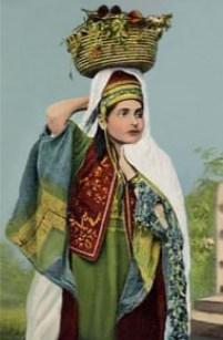 Obsthändlerin, Obst, Verkauf, Palästina