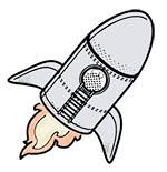 Illu: Rakete