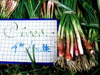 Zwiebeln, Lauchzwiebeln, Gemüse, Markt