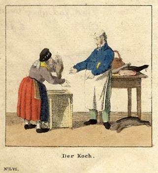 Koch, Händlerin