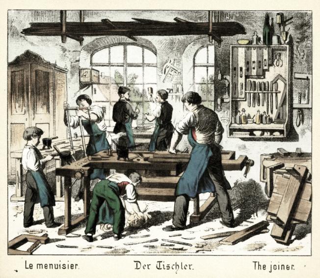 Schreiner, Tischler, Tischlerwerkstatt