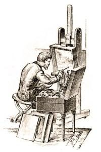Kunstmaler, Maler, Künstler, Staffelei