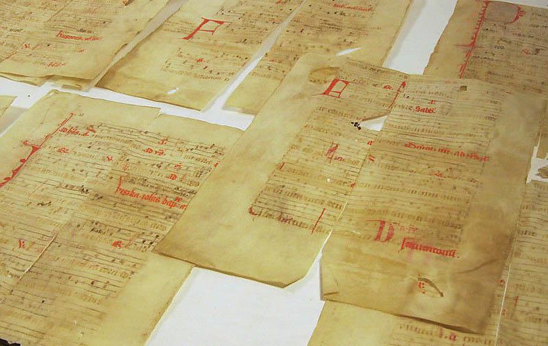 altes Pergament aus Frankreich