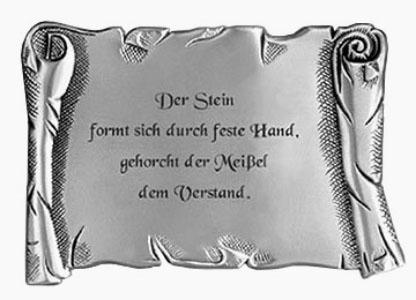 Steinmetz, Steinmetzspruch