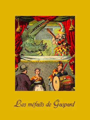 Theaterplakat 'Kasper's Übeltaten' um 1900