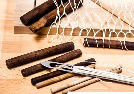 Werkzeuge zum Netze herstellen