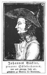 sw-Abb. eines jungen Mannes mit Hut