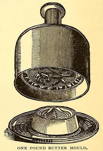 Grafik: Butterstempel
