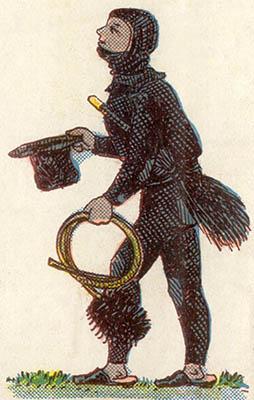alte Illustration: Kaminfeger