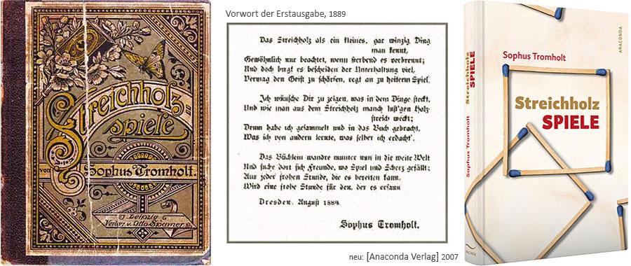 Der Klassiker der 'Streichholz Spiele' Bücher von Tromhold - seit 1889