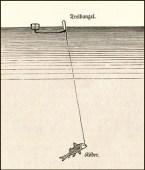 Zeichnung: Aalpuppe genannte Treibangel - 1886
