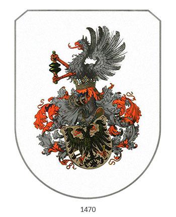 Wappen der Buchdrucker - 1470