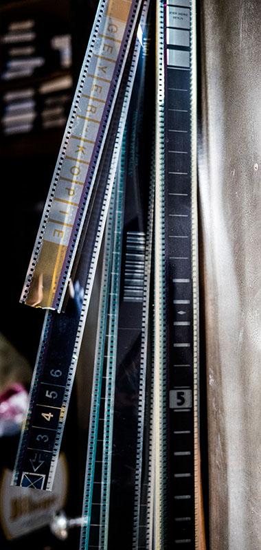 Foto: mehrere Filmstreifen