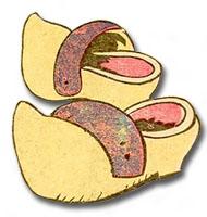 illu: ein Paar Holzschuhe