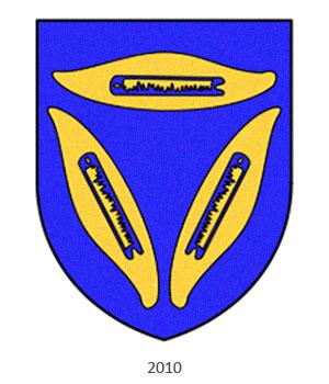 Zunftwappen: modern stilisiertes Weberwappen - 2010