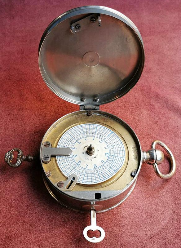 spezielle Uhr für Nachtwächter
