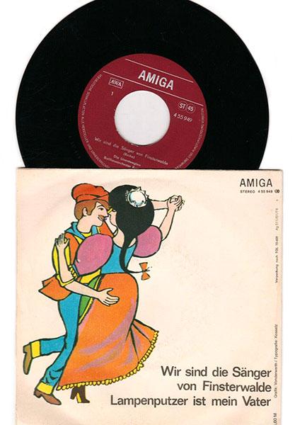 alte Schallplatte/Single