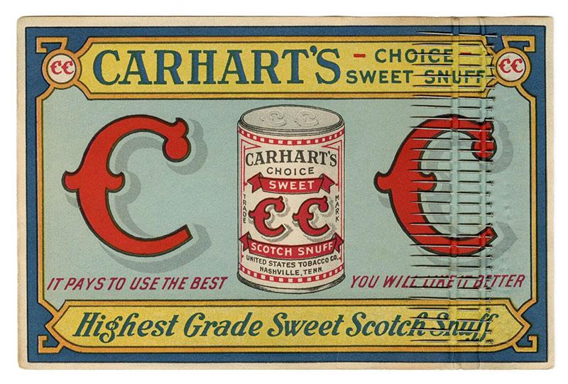 Werbepappe mit Stecknadeln