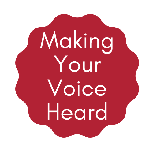Making Your Voice Heard Reading List