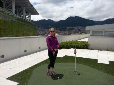 Minigolf in Bogotá