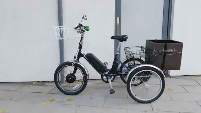 3 tire bike
