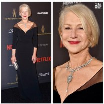 Helen Mirren - Badgley Mischka