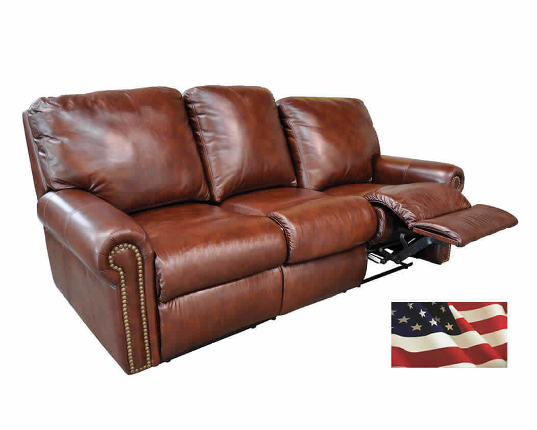 Leather Sectional Couch Recliner