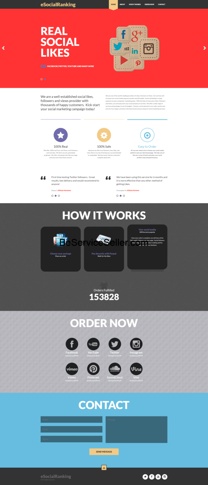 , Service Reseller Business Sites Demo(These Are Just A Few), Done-For-You Business