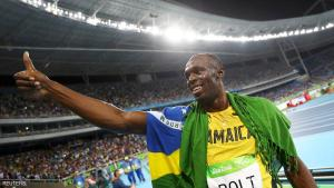 2016 Rio Olympics - Athletics - Final - Men's 200m Final - Olympic Stadium - Rio de Janeiro, Brazil - 18/08/2016. Usain Bolt (JAM) of Jamaica celebrates winning the gold medal.   REUTERS/Kai Pfaffenbach    FOR EDITORIAL USE ONLY. NOT FOR SALE FOR MARKETING OR ADVERTISING CAMPAIGNS.