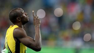 RIO DE JANEIRO, BRAZIL - AUGUST 18:  Usain Bolt of Jamaica prepares to compete in the Men's 200m Final on Day 13 of the Rio 2016 Olympic Games at the Olympic Stadium on August 18, 2016 in Rio de Janeiro, Brazil.  (Photo by Dean Mouhtaropoulos/Getty Images)