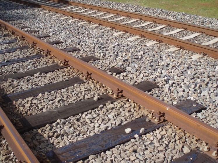 حصى السكك الحديدية