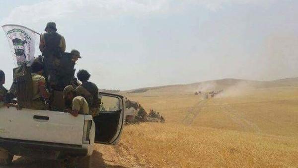 تركيا تنشر دبابات في جرابلس السورية.. والحر يطارد داعش