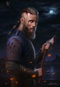 ragnar_lothbrok___vikings_by_greg_opalinski-d7ov3bh