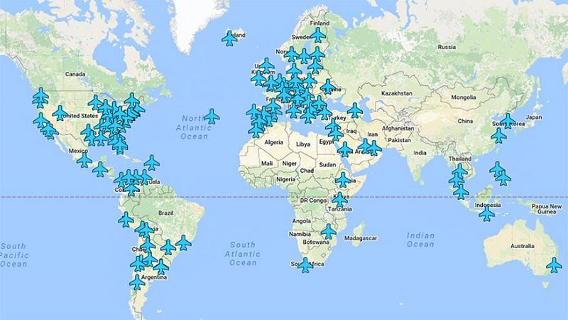 طريقة تمكنك من معرفة كلمات سر الشبكات في مطارات العالم
