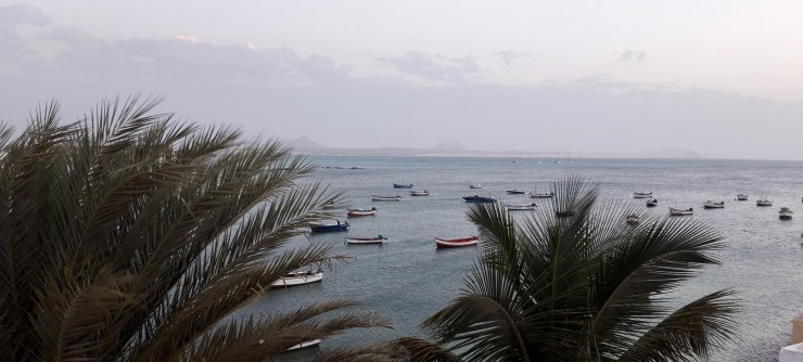 Colourful Colorful boats is one the quick facts about Cape Verde